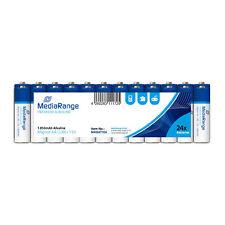 MediaRange batterie premium alcaline AA PILE STILO LR06 1.5v shrink 24 pz