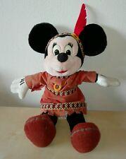 Peluche minnie 35 cm disney pupazzo vintage topolino Mickey Mouse plush soft toy