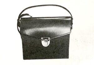 Brand New Unused Leitz Black Binoculars Leather Case Strap Vintage Leica 42173
