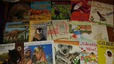 Paperback Children's Books, Lot of 15, Picture, School, Learning, dinosaurs