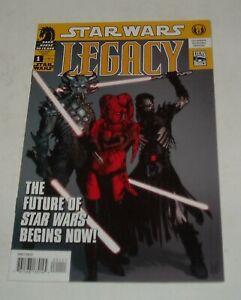 STAR WARS LEGACY # 1 DARK HORSE COMICS 2006 ADAM HUGHES cover CADE SKYWALKER 1st