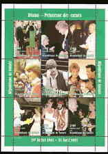 PRINCESS DIANA - GUINEA  - MEMORIAL STAMP SHEET -