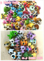 "Random 20Pcs Littlest pet shop LPS Animal pet dog Figure toy (10x 1"" +10x 0.5"" )"