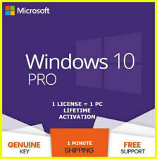 ✅Windows 10 Pro Professional 32/64bit Activation License Key ✅5sec Delivery✅
