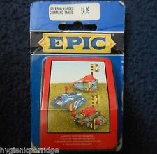 1995 epic imperial guard predator chimère leman russ command tank warhammer mib