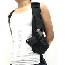 Left Tactical Hidden Underarm Security Shoulder Gun Holster Holder Armpit Bag