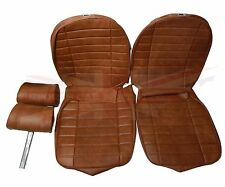 New Seat Covers Upholstery MGB 1973-80 Made in UK + Headrests Autumn Leaf SC115K