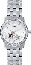 Women's Adult Rotary Analog Wristwatches