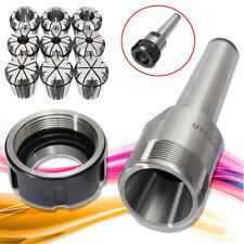 9x ER32 Spring Collet Set 2mm-20mm + MT3 M12 Collet Chuck Holder CNC Milling AU