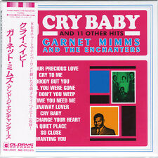 GARNET MIMMS & THE ENCHANTERS-CRY BABY-JAPAN MINI LP CD BONUS TRACK C94