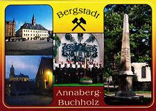 Annaberg-Buchholz , Markt mit Rathaus ,AK , ungel.