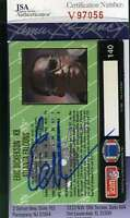 Eric Dickerson 1993 Action Packed Jsa Coa Hand Signed Authentic Autograph