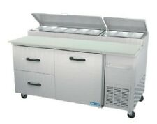 Pro Kold Ppt 67 21 67 Pizza Prep Table Refrigerated Counter