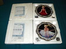 "2 x MARILYN MONROE ""Jeweled Tribute"" DIAMOND & RUBY LENGEND @ Bradford Exchange"