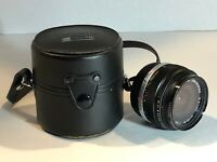OLYMPUS OM-SYSTEM G.ZUIKO AUTO-W 28mm 1:3.5 WIDE PRIME LENS WITH CASE Clean