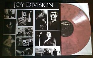 JOY DIVISION - Disorder (The Last Concert) LP PINK w/BLACK SWIRLS Vinyl/150?