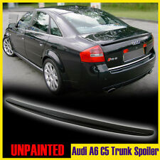 Audi Quattor A6 C5 OE-Style Saloon 4D Unpainted Rear Boot Spoiler Wing 2004