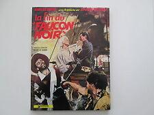 BARBE ROUGE LA FIN DU FAUCON NOIR 1974 TBE/TTBE PAGE DE GARDE PILOTE VERTE