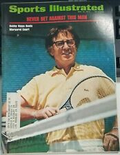 Vintage Sports Illustrated May 21,1973 Tennis Bobby Riggs FAST FROM USA SHIPPING