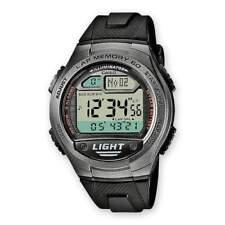 Casio Sports W-734-1avef Mens Digital LED Training Lap Memory Timer Watch Black