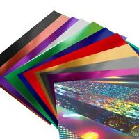 A4 Mirror & Holographic Card -  luxury mirri products. Choice of colours