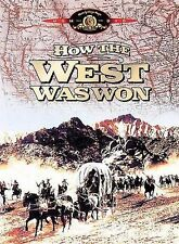 How The West Was Won DVD, 1962, Widescreen, New, Western, Baker Cobb Fonda Peck