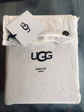 100% Linen Queen Sheet Set By Ugg Blush Color Bnwt