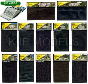 BNIB Woodland Scenics Rock Moulds & OO Tunnel Liner Form -Choice Of 17 -  N OO O