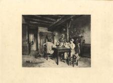 Antique (Pre-1900) Figures Etching Art Prints