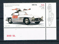 Bund  Wohlfahrt 2002 Mi 2291 Mercedes 300 SL 55+25 postfrisch Eckrand 4