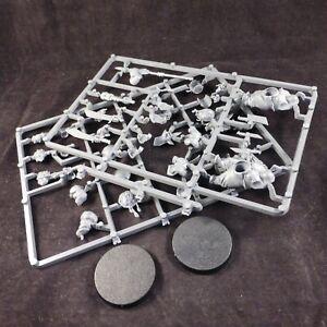 Ogre Kingdoms Ogres / Ogor Bull Gutbusters Gluttons on Plastic Frame