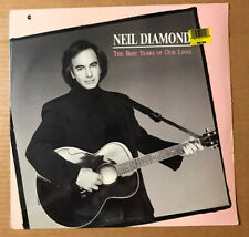 """Neil Diamond """"The Best Years Of Our Lives"""" '88 Columbia New/ Sealed Lp"""