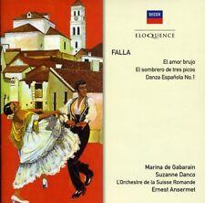 L'Orchestre de la Suisse Romande - Falla: El Amor Brujo [New CD]