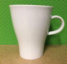 Arzberg MOVE 6 x Henkelbecher 0,38 Liter Kaffeetassen Tassen Becher weiß