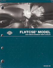 New listing 2005 Harley-Davidson Cvo Flhtcse2 Electra Glide Parts Catalog Manual -New Sealed
