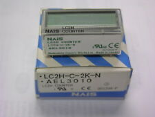 NAIS LC2H-C-2K-N 8-Digit Non-Voltage Input PCB DIN Half Size LCD Counter 2kHz