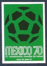 PANINI WORLD CUP STORY #019-MEXICO 1970 LOGO