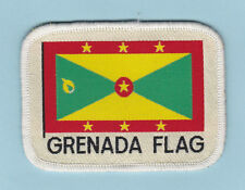 SCOUT OF WEST INDIES - GRENADA SCOUTS NATIONAL FLAG EMBLEM Patch