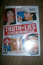 NEW FACTORY SEALED TRUTH OR LIES WII GAME FREE SHIPPING