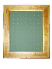 Golf Ball Marker Display Frame - For 63 Stem / Peg Markers - Worm - Wall Hanging