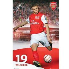 Arsenal FC Gunners Jack Wilshere poster Gunners English Premier League new EPL
