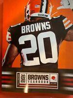 2020 2021 CLEVELAND BROWNS YEARBOOK NFL FOOTBALL PROGRAM AFC SUPER BOWL LV ??
