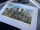 Simon Smith Advance from Utah WW2 Band of Brothers Print 70/250 Signed