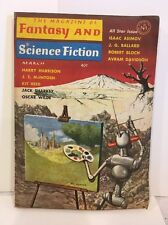 March 1964 The MAGAZINE of FANTASY and SCIENCE FICTION DIGEST, OSCAR WILDE