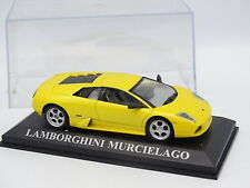Prensa Ixo 1/43 - Lamborghini Murcielago Amarillo