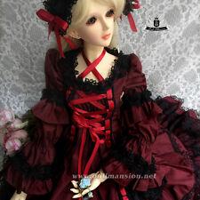 1/3 BJD Dress SD Maid Dress set Dollfie AOD DOD LUTS Clothing dress Lolita skirt