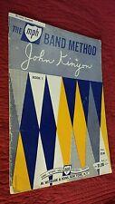The John Kinyon Band Method Book 1 fir TRUMPET Vintage 1962 M. Witmark an Sons