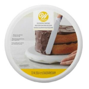 Wilton Rotating Cake Decorating Turntable 12 in #307-6715