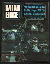 1969 September Mini Bike Guide - Vintage Minibike Motorcycle Magazine