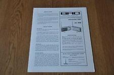 Marconiphone 4161 & HMV 2161 Transistor Radio BRC Service Manual